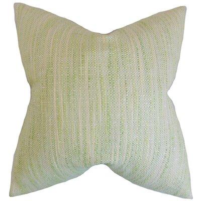 Chrisholm Stripes Floor Pillow Color: Celery