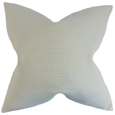 Dionysius Geometric Floor Pillow Color: Mist
