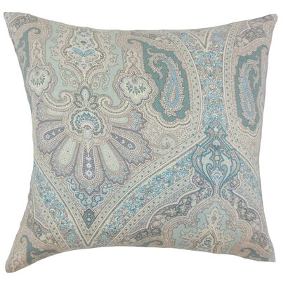 Duron Damask Floor Pillow Color: Seaglass