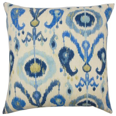 Hughley Ikat Floor Pillow