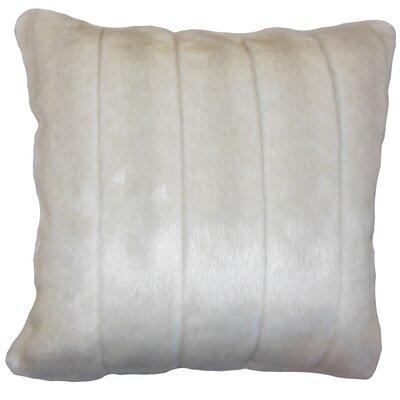 Deloris Traditional Square Floor Pillow Color: Beige