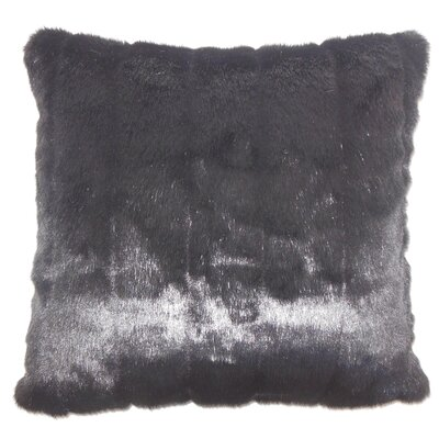 Deloris Traditional Square Floor Pillow Color: Black