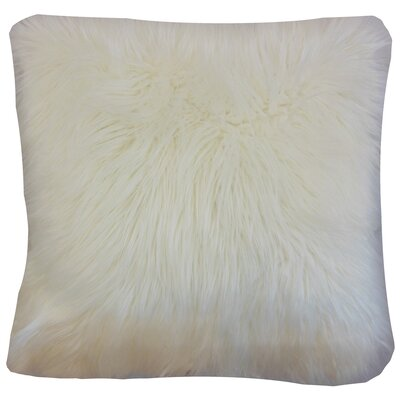 Deloris Floor Pillow Color: Off White