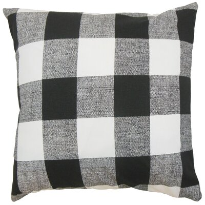 James Plaid Floor Pillow