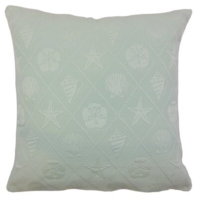 Spokane Outdoor Floor Pillow Color: Baltic