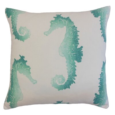 Dalewood Outdoor Floor Pillow Color: Turquoise