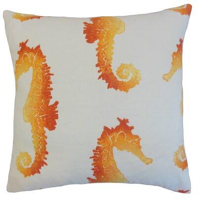 Dalewood Outdoor Floor Pillow Color: Tangerine