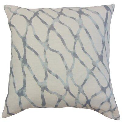 Vivianne Graphic Floor Pillow Color: Cloud