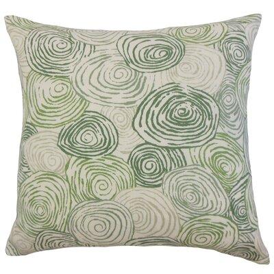 Zakary Graphic Floor Pillow Color: Grass