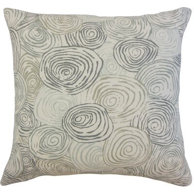Zakary Graphic Floor Pillow Color: Mineral
