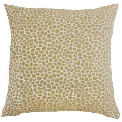 Edmee Geometric Floor Pillow Color: Sand