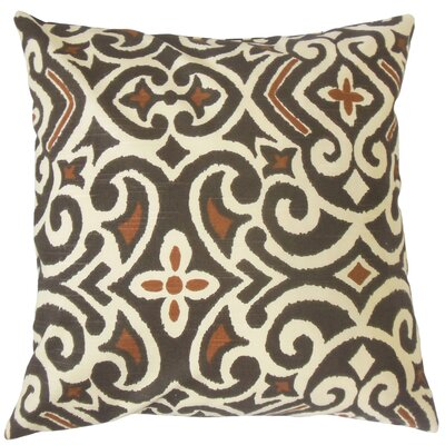 Sharman Damask Floor Pillow Color: Terrain