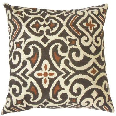Sharman Damask Floor Pillow Color: Terrain