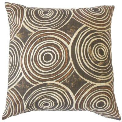 Kurtis Geometric Floor Pillow Color: Terrain