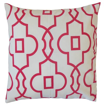 Heimbach Geometric Pink Floor Pillow