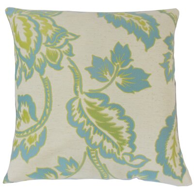 Dashner Floral Floor Pillow Color: Julep