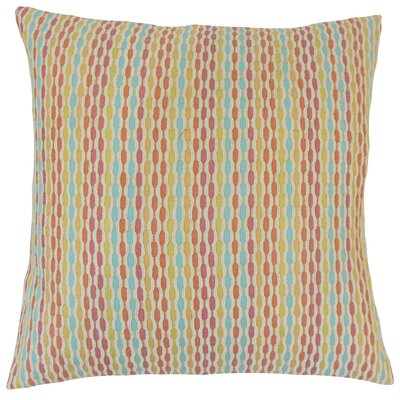 Conesus Stripes Floor Pillow Color: Confetti