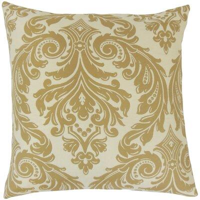 Pierron Damask Floor Pillow Color: Camel