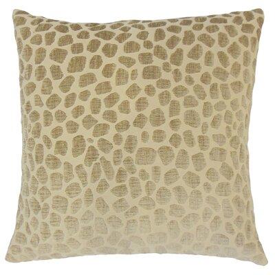 Dreketi Geometric Floor Pillow Color: Linen