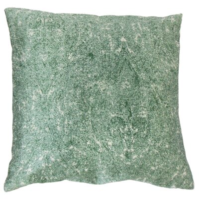 Sheena Graphic Floor Pillow Color: Lagoon