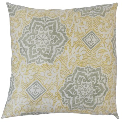 Britley Floral Floor Pillow Sterling
