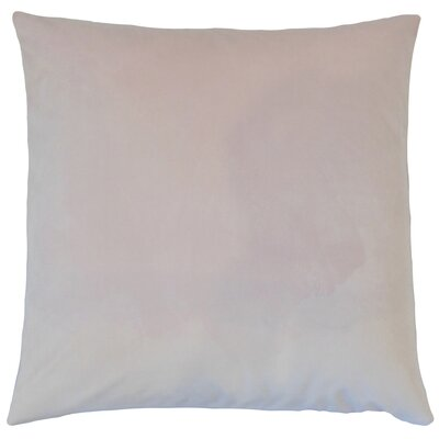 Aveneil Solid Floor Pillow Color: Orchid