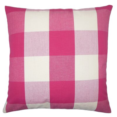 Nanette Plaid Floor Pillow