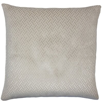 Acuna Solid Floor Pillow Color: Natural