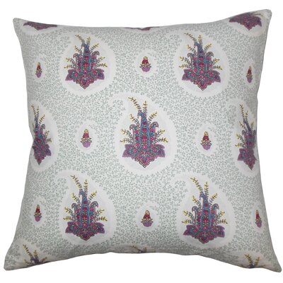 Bruckdale Floral Floor Pillow Color: Pink