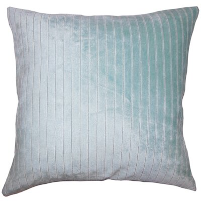 Ardley Striped Floor Pillow Color: Caribbean