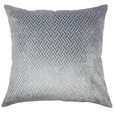 Acuna Solid Floor Pillow Color: Slate