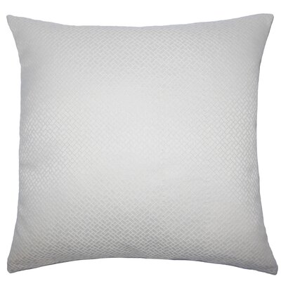 Hartsell Geometric Floor Pillow Color: Bone
