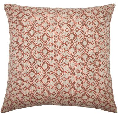 Brownesville Ikat Floor Pillow Color: Cinnamon