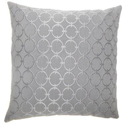 Acevedo Geometric Floor Pillow Color: Graphite