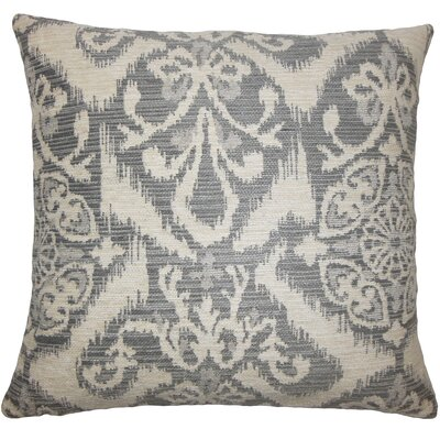 Merriam Ikat Floor Pillow Color: Fog