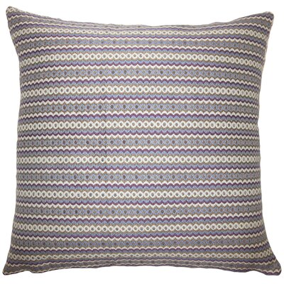 Dreher Geometric Violet Floor Pillow