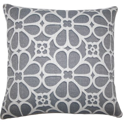 Kiely Geometric Floor Pillow Dove