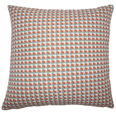 Reuben Geometric Floor Pillow Color: Regatta