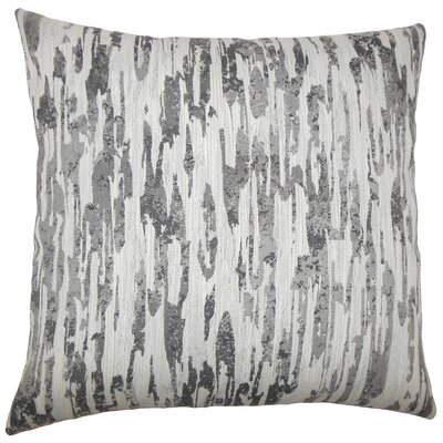 Eduarda Graphic Floor Pillow Color: Birch