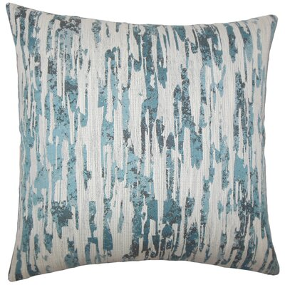 Eduarda Graphic Floor Pillow Color: River