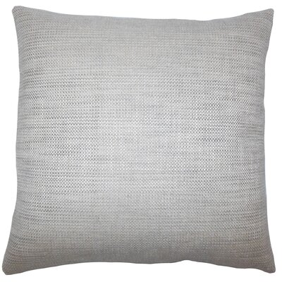 Doroteia Weave Floor Pillow Color: Gray