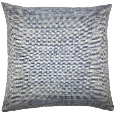 Doroteia Weave Floor Pillow Color: Indigo
