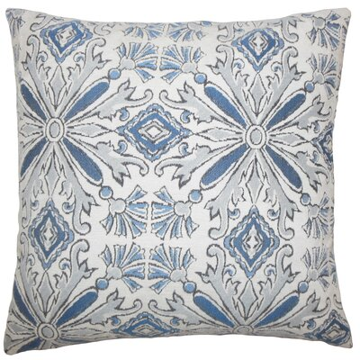 Doster Damask Floor Pillow Color: Chambray