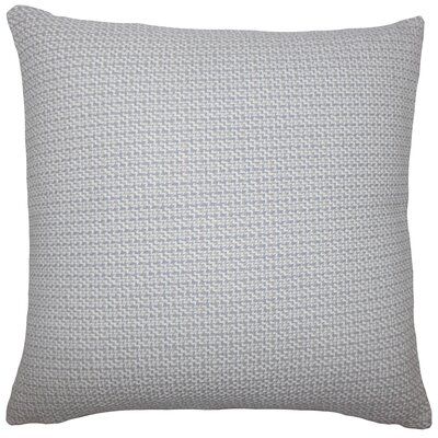 Gaughan Plaid Floor Pillow Color: Gray