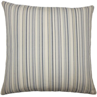 Cheree Striped Floor Pillow Color: Dusk