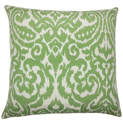 Canonbury Ikat Floor Pillow Color: Agave