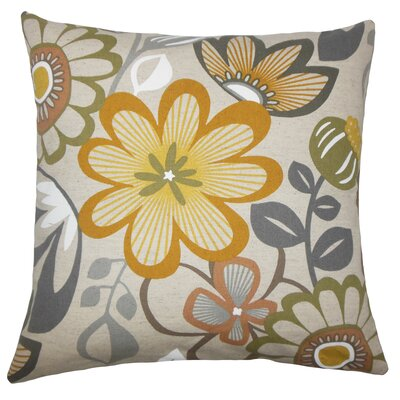 Dostal Floral Floor Pillow