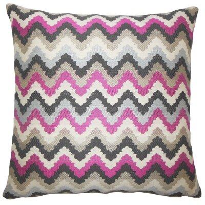 Hartranft Zigzag Floor Pillow Color: Stone