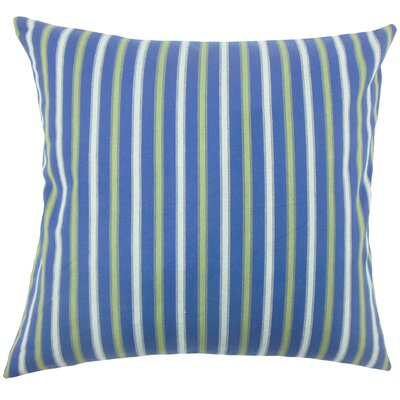 Arnott Striped Floor Pillow Color: Blue
