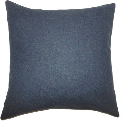 Schubert Solid Floor Pillow Color: Blue